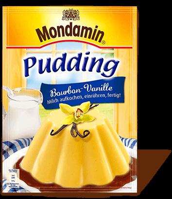 Pudding Bourbon Vanille Geschmack Mondamin Produkte